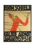 Egon Shiele For Galerie Arnot