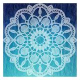 Indigo Mandala 1 Reproduction d'art par Kimberly Allen