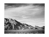 "View Of Mountains ""Near Death Valley"" California 1933-1942"