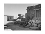 "Looking Across Street Toward Houses ""Acoma Pueblo [NHL New Mexico]"" 1933-1942"