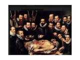 Anatomy Lesson Of Dr Willem Van Der Meer