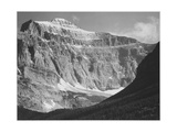 "Close In View Of Mt Side ""From Going-To-The-Sun Chalet Glacier National Park"" Montana 1933-1942"