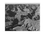 "Canyon And Ravine ""Grand Canyon National Park"" Arizona 1933-1942"