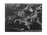 "Close In View Down Toward Peak Formations ""Grand Canyon National Park"" Arizona 1933-1942"