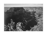 "View With Rock Formation Different Angle ""Grand Canyon National Park"" Arizona 1933-1942"