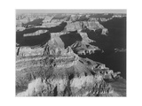 "View Dark Shadows To Right High Horizon ""Grand Canyon National Park"" Arizona 1933-1942"