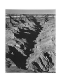 "View With Shadowed Ravine ""Grand Canyon From South Rim 1941"" Arizona  1941"