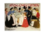 Affiches Charles Verneau-La Rue