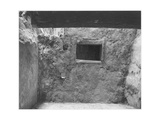 "Interior Showing Wall & Window ""Interior At Ruin Cliff Palace Mesa Verde NP"" Colorado ""1941"" 1941"