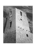 "View Of Tower Taken From Above ""Cliff Palace Mesa Verde National Park"" Colorado 1933-1941"