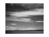 "Lake Narrow Strip Of Mts Low Horizon ""Yellowstone Lake Yellowstone NP"" Wyoming 1933-1942"