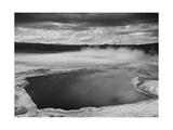 Fountain Geyser Pool Yellowstone National Park Wyoming  Geology  Geological 1933-1942