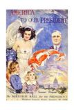 Franklin Roosevelt's Birthday Ball  1934-Howard Chandler Christy