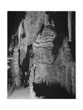 Formation At The 'Hall Of Giants' In Carlsbad Cavern New Mexico  1933-1942