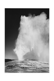 "Various Angles During Eruption ""Old Faithful Geyser Yellowstone National Park"" Wyoming  1933-1942"