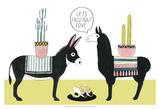 Let's Taco Bout Love I Reproduction d'art par Grace Popp
