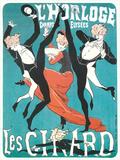 L Horloge Les Girard Poster