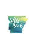 AR Little Rock Reproduction d'art par Paperfinch