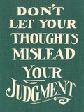 Use Judgment