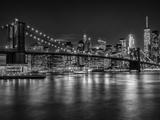 New York City Nightly Impressions Reproduction d'art par Melanie Viola