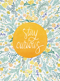 Stay Curious Yellow