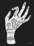 Palmistry Black And White