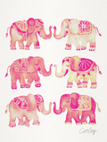 Elephant Collection Pink
