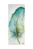Watercolor Feather IV