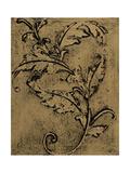 Leaf Scroll I