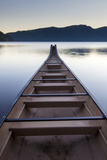 Olympic National Park  Washington: Lake Crescent At Sunrise