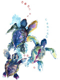 Baby Sea Turtles 3 Reproduction d'art par Suren Nersisyan