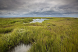 Stormy Skies Hang Over The Marshlands Surrounding Smith Island In The Chesapeake Bay