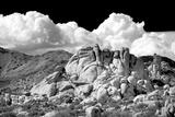 Texas Canyon Rocks BW