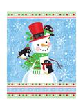Penguins & Snowman