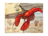 Fresh Catch Lobster Reproduction d'art par Paul Brent