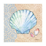 Serene Seashells I Reproduction d'art par Paul Brent