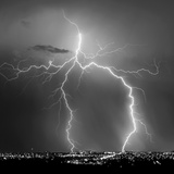 Urban Lightning I BW