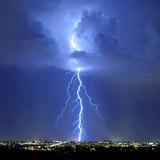 Blue Lightning Sq