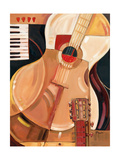 Abstract Guitar