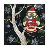 Winter Fantasy Owls I