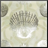 Metallic Shell Tiles I