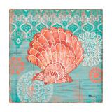 Coral Cove Shells I Reproduction d'art par Paul Brent