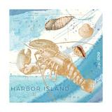 Harbor Island Lobster Reproduction d'art par Julie Paton