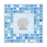Mosaic Scallop Reproduction d'art par Paul Brent