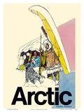 Arctic - Alaska Airlines - Native Inuit Indians