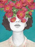 The Optimistrosetinted Glasses Reproduction d'art par Laura Graves