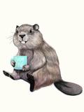 Damnfine Coffee Reproduction d'art par Laura Grave