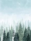 Into the Trees II Reproduction d'art par Grace Popp