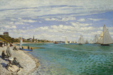 Regatta at Sainte- Adresse