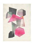Collaged Shapes I Giclée premium par Jennifer Goldberger